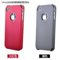 苹果5s金属手机壳 iPhone5手机保护套 5g超薄金属边框 铝合金外壳