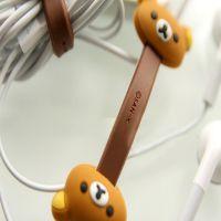 靓款 韩国纽扣绕线器 耳机绕线器 iPhone4手机 mp3收纳器 集线器