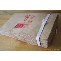 供应牛皮纸袋 食品纸袋 防油风琴纸袋