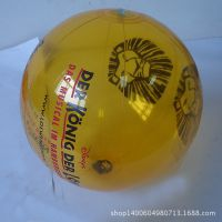 来样订做 充气玩具球 充气透明沙滩球