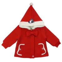 2014年ALPOSRO品牌新品童装冬季女孩蝴蝶结棉衣^童装品牌^童装^