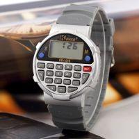 微信淘宝货源 计算器风格电子手表 欧美儿童学生休闲手表