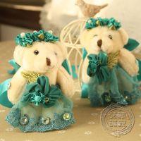 韩国田园风格  泰迪翡翠熊  窗帘夹  窗帘扣  窗帘绑带  单个