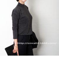 2014秋冬新款女装打底衫 长袖小高领女士内外百搭冬季加厚打底衫