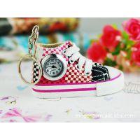 D时尚鞋子型挂件表多种颜色及样子随机发日韩卡哇伊挂表创意手表