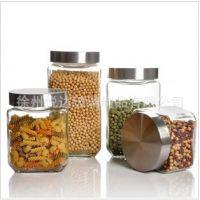玻璃密封罐 密封储物罐 泡酒玻璃瓶子 泡菜坛子 玻璃罐子