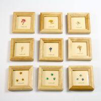 839实木相框 像框 创意家居装饰品 木质 可悬挂 正方形