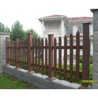 木塑护栏塑木栈道生态木扶手绿可木栅栏哪家的好?安徽黄山找美森