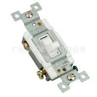 专业供应U08美式双联插座带带开关 GFCI漏电过载保护