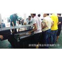 苏州海捷彩绘进口UV1325 玻璃印花机 瓷砖喷绘机 背景墙打印机