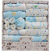 婴儿礼盒 婴儿衣服 多婴坊18件套LH105一件代发
