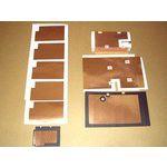 厂家供应供应铝箔胶贴冲型 铜箔胶贴冲型 规格在小均可订做