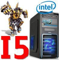 供应高端四核I5 3470/B75组装电脑 台式电脑主机 游戏组装机 DIY整机