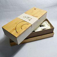 巨匠厂家专业工艺高档竹制环保便携式旅行竹盒 竹制茶具包装