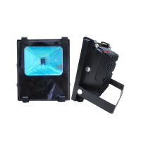 厂家供应10W仿超频三压铸投光灯外壳 塑料投光灯外壳
