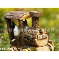 [英乐吉玩具商行]厂价直批 龙猫TOTORO 森林小火车 工艺品摆件