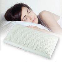 梵妮丝正品乳胶枕 标准型60长传统枕 保健枕 单人护颈枕睡枕