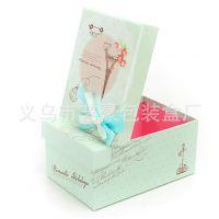 纸盒厂家专业供应时尚烫金方形翻盖纸盒礼品包装盒 定做彩盒