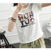 夏季地摊热卖 外贸原单女装短袖 清货库存女式T恤 几元女式小衫 厂家一手货源批发
