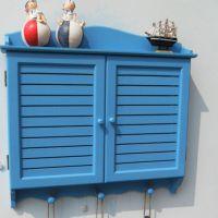 超薄电表箱遮挡箱百叶田园配电箱家居壁挂电表盒电箱装饰箱小号