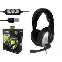 科麦B2 头戴式护耳USB耳机 PC麦克风 游戏耳机 笔记本耳机 耳麦