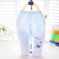 2014新款童丽安59-80码纯棉男女童糖果色字母小熊单件 小裤 2022