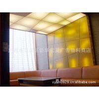 供应广告装饰装修造型专用PVC可喷绘双面天花轻膜/软膜