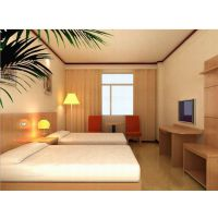 供应广州广时杰酒店成套家具GSJ141007(8)酒店宾馆家具 套房标间单间全套家具床架