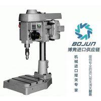 广州钻孔机进口报关|代理|清关|流程|手续|费用博隽