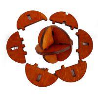 孔明锁鲁班锁 成人儿童新款鲁班球 木制玩具 YX836