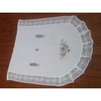 (厂家直销) 丝带绣花 、台布、 桌布 、椅套、 椅垫、 量大