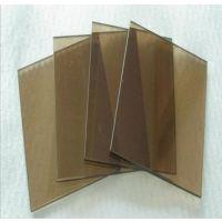 【供应茶色玻璃】加工茶色玻璃 钢化灰茶/金茶玻璃 规格齐全