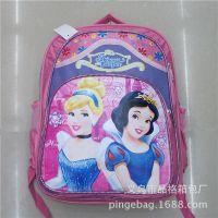 2014年迪士尼新款书包 幼儿园  白雪公主双肩背包 儿童减压书包