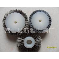铸件铝件加工中心使用表面处理抛光钢丝轮 碳化硅毛刷轮 挡水条刷