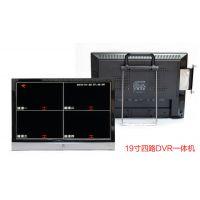 DVR一体机19寸4路,【硬盘录像】,网络监控,LCD一体机