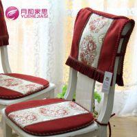 月和家思 欧式高档坐垫椅垫 布艺 餐桌椅垫 椅子垫 餐椅垫套特价