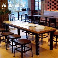 供应研磨时光家具实木桌椅 咖啡厅家具 连锁高端烘焙店餐桌餐椅