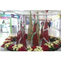 圣诞节150cm小松针树 迷你圣诞仿真树 节日场地布置装饰圣诞树