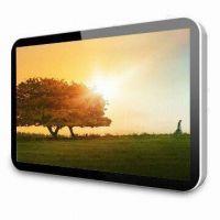苹果款42寸广告机 1080P高清超薄 多媒体壁挂广告机 视频播放