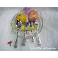 家庭厨房用品 不锈钢刀叉勺 熊猫  汤勺 刀具 餐具 大勺 大叉