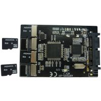 供应厂家供应 Micro SD转Micro SATA硬盘转接卡 TF转Micro sata