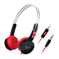 供应电音WP-182 便携式音乐耳机 头戴式通讯耳机 四色可选 带麦克风