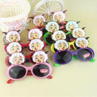 款式多 高品质 批发单色卡通宝宝眼镜 儿童太阳镜 学生遮阳镜