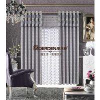 别墅/办公室窗帘布艺品牌加盟 欧式卧室/客厅窗帘定做