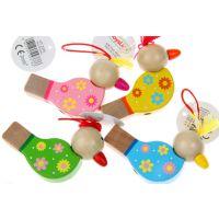 澳大利亚Toyslink品牌 木制儿童口哨 小鸟口哨 音乐玩具吹奏乐器