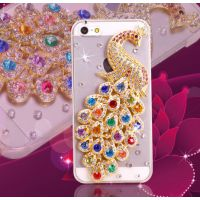 苹果iphone 5/5s手机壳iphone 6s手机套水钻外壳4s保护壳钻壳批发