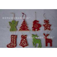 前进毛毡制品厂供应圣诞节、复活节毛毡挂件
