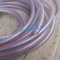 供应内径25mm 外径31mm PVC钢丝管 塑料软管 聚氯乙烯流体软管