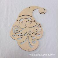 2014新款热销圣诞饰品 激光挂件 雕刻饰品 木质圣诞工艺品MT-003