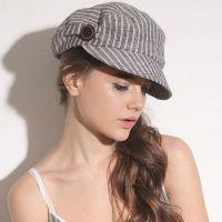 青岛帽子厂家14时装帽子春季新品女 淑女八角帽报童帽春秋天韩版